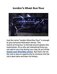 London's Ghost Bus Tour