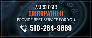 Business Consultation Specialist Astrologer Thirupathi in California