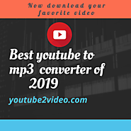 Best youtube to mp3 converter of 2019