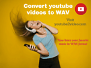 How to download and convert youtube videos to WAV format?
