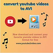How to convert youtube videos to AVI format? - youtube2video's diary