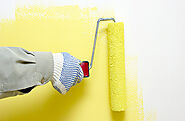 Sponge Effect on Interior Painting in Home
