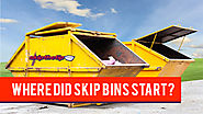 Where Did Skip Bins Start? - Skip the TipSkip the Tip