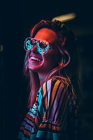 Programmable Led Rave Glasses – Georgy H. – Medium