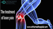 What is the treatment of knee pain?