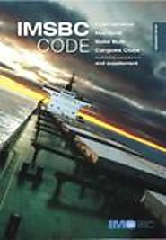 IMSBC Code & Supplement, 2018 Edition - American Nautical Services