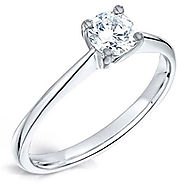 Shop Solitaire Engagement Ring in Glasgow | Bejouled