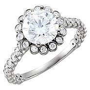 Cluster Engagement Rings Glasgow | Bejouled Diamonds