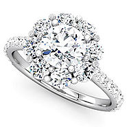 Bejouled Ltd — ENGAGEMENT RINGS GLASGOW - HALO RINGS