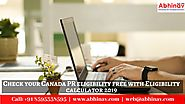 Check your Canada PR eligibility free with Eligibility calculator 2019