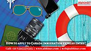 How to apply to Canada immigration express entry?