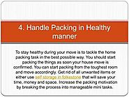 Expert Tips to Eat Healthy During Moving