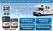 Liquid RV Roof Repair to Fix RV Roof Leaks & RV Roof Sealant