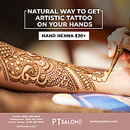 PT Beauty Salon — Did you know that those beautiful Henna Tattoos...