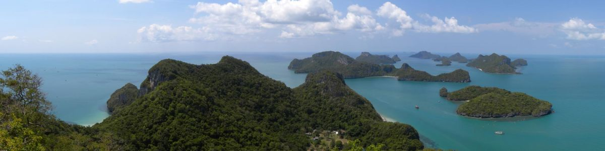 Headline for Ang Thong National Marine Park - Be Mesmerised by the Emerald Waters and the Limestone Cliffs