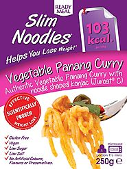 Buy Vegetable Panang Curry with Slim Konjac Noodles At An £4.99