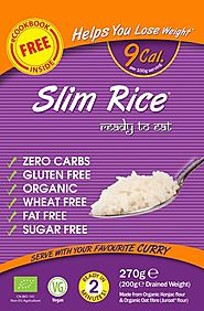 Shop Now Low Calorie Konjac Slim Rice Online In UK At An £2.55