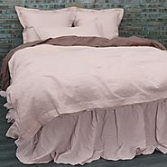 Enjoy Pure Luxury, designed to delight the senses with our fine Linen Duvet Covers