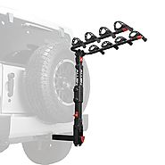 Premier Locking Hitch Bike Rack for Spare Tire Vehicles - Allen Sports USA