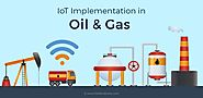 Infographic : How IoT Is Transforming The Oil and Gas Industry