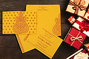 Exclusive Hindu wedding card collections by 123WeddingCards