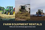 Agriculture Equipment for Rent - FarmEase App