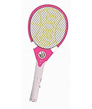 FEOMY Rechargeable Mosquito/Insect Killer Racket with Led Torch
