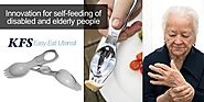News - KFS Easy Eat Utensil - Cutlery for Disabled - Disability Cultery