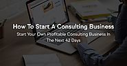 5 Questions to ask yourself before starting a Consulting Business | CVG Consulting