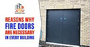 Reasons Why Fire Doors in East London Are Necessary for Every Building