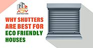 Why Shutters in North London Are Best for Eco-Friendly Houses