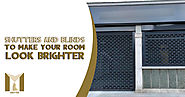 Shutters and Blinds In North London to make Your Room Look Brighter