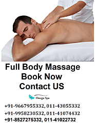 Book Best Full Body Massage Services in Delhi With Omega Spa