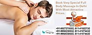 Book Flexible Full Body Massage In Delhi By Female Therapist At Omega Spa