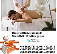 Book Female To Male Full Body Massage In Delhi With Omega Spa