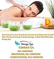 Full Body Massage Service Centers In Delhi Omega Spa