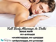 Remove All Your Stress With Full Body To Body Massage In Delhi