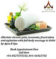 Being able to breathe deeper with body massage in Delhi