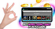 Best Mobile Casino Games by Microgaming