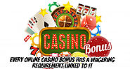 Every Online Casino Bonus Has a Wagering Requirement Linked to It