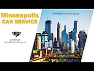 Minneapolis Car Service – Minneapolis Airport transportation, Minneapolis Sedan Service