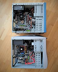 Two RetroPC assembled form leftover PC parts