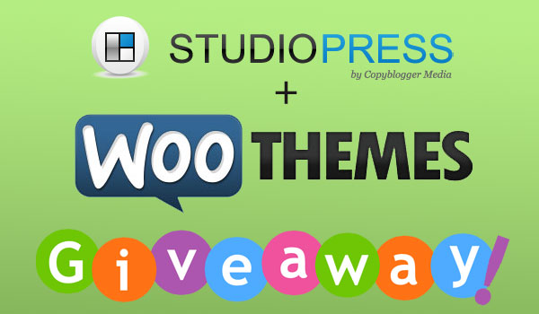 Giveaway: All StudioPress+WooThemes Themes + 2 Premium Plugins