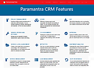 CRM Application Software | CRM Software Feature-Paramantra