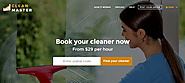 Clean Master — Cleaning Domestic Service PHP Script(Migrateshop)