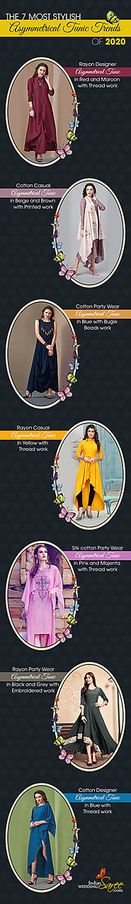 Stylish Asymmetrical Tunic Trends of 2020