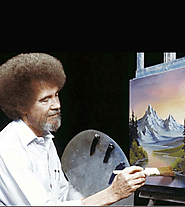 Follow a Bob Ross tutorial