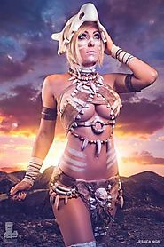 Jessica Nigri as Cubone