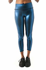 Get the Perfect Look with Metallic Yoga Leggings