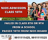NIOS 10th Admission Secondary 2020-2021 Form Fill up, Fees Last Date